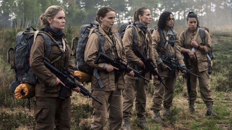 Annihilation personnages actrices
