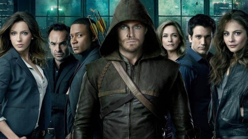arrow personnages poster