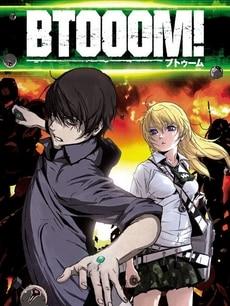 btooom anime poster