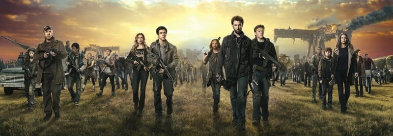 FALLING SKIES serie post apo