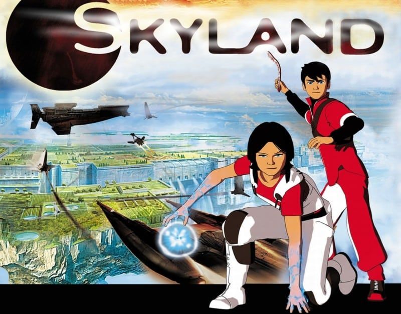 skyland serie le nouveau monde