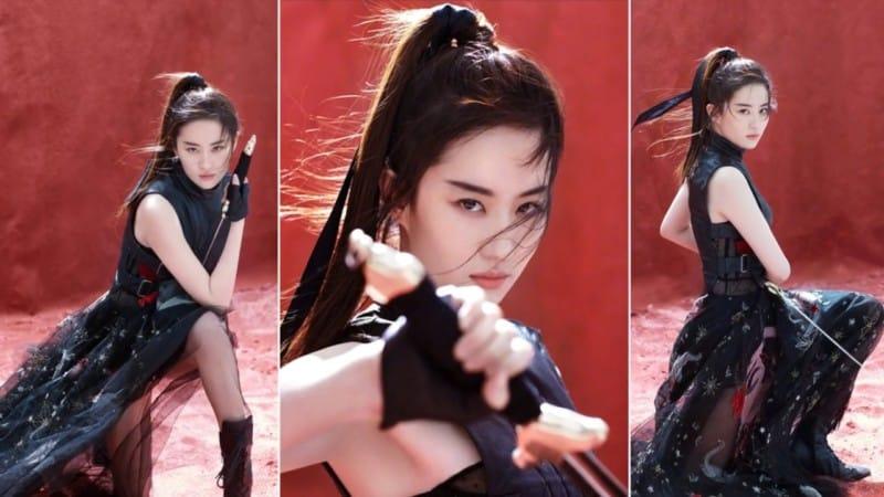 Crystal Liu Yifei Mulan film Disney