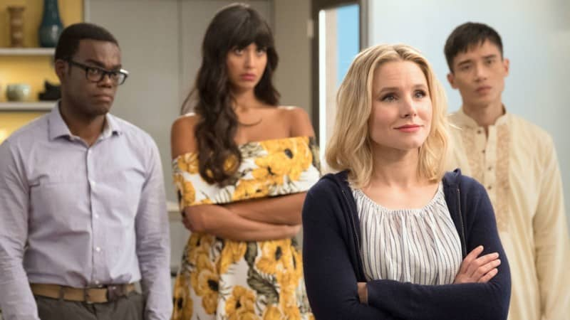 the good place cast acteur actrice