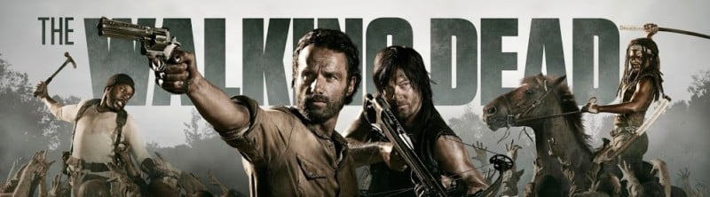 the walking dead banner meilleure serie zombie
