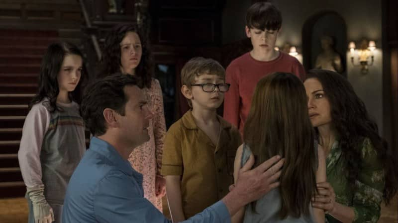 The Haunting of Hill House family