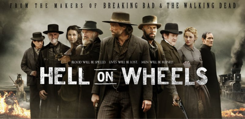 personnages hell on wheels critique