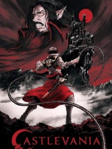 Castlevania poster affiche serie
