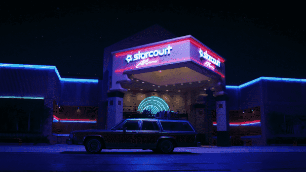 Stranger Things saison 3 : Starcourt Mall