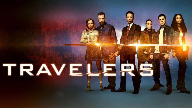 Travelers serie netflix