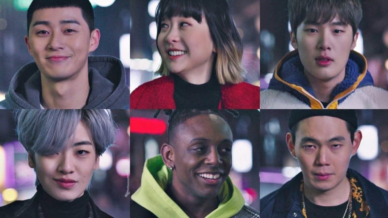 itaewon class drama casting