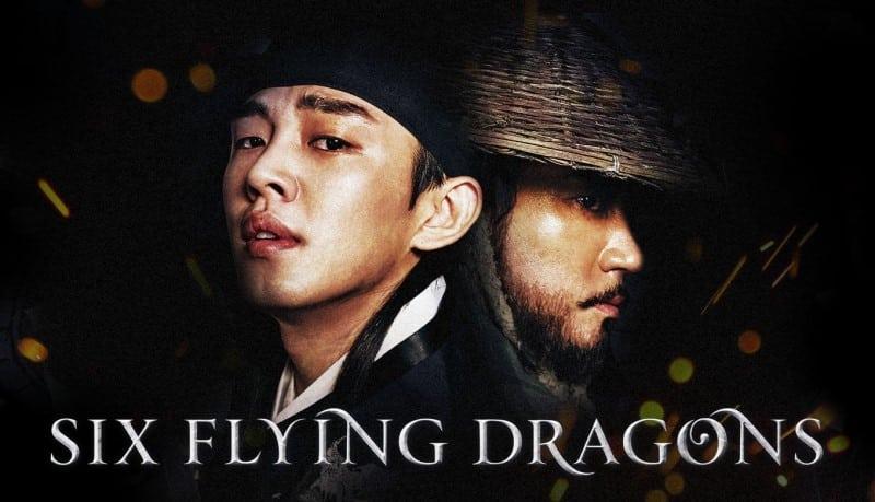 six flying dragons drama coréen historique