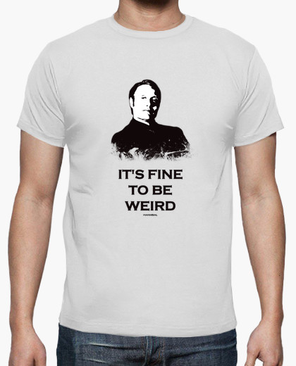 t-shirt_homme_hannibal_its_fine_to_be_weird