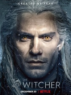 the witcher poster officiel netflix